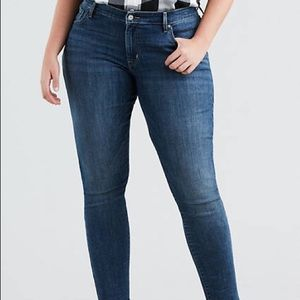 Levi's 711 High Rise Skinny Jeans 20